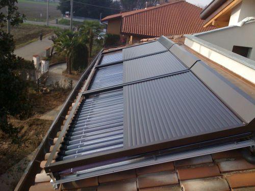 Pannello Solare Per Motore Elettrico : Tapparella solare