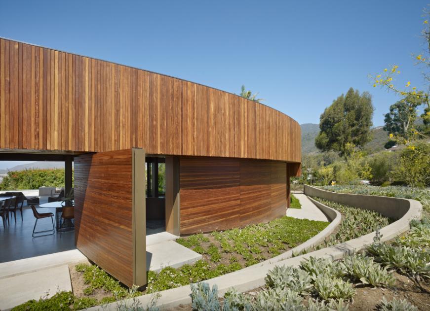 Legno per il Residence Ziering ad alta efficienza energetica
