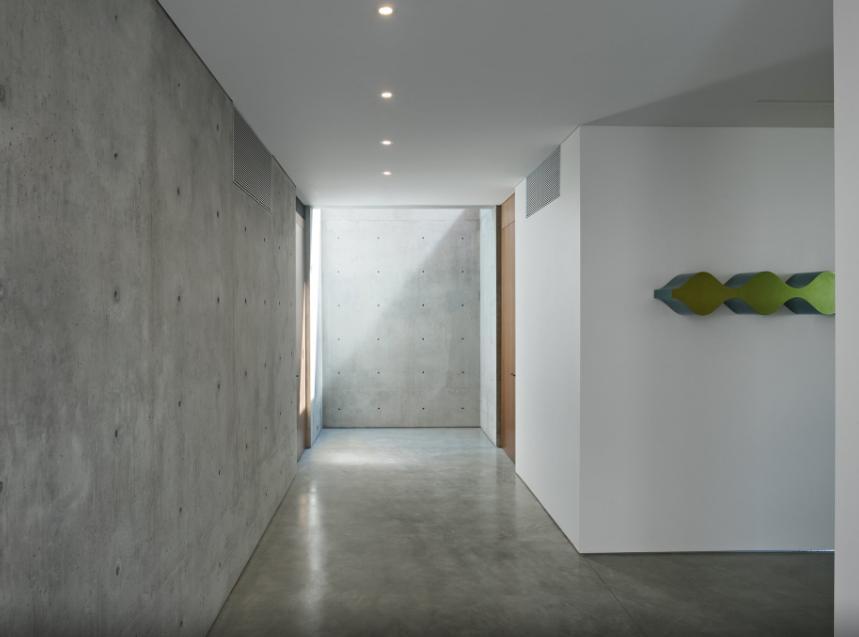 Pavimenti in cemento per il Residence Ziering