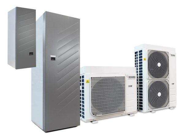 Pompe di calore Easy Pump di Rehau per ottimizzare l'efficienza energetica