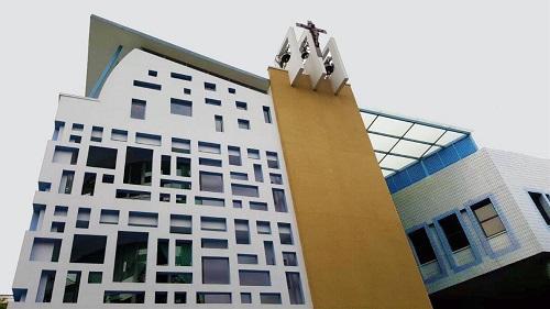 Edificio rifinito con COLORITE MATT
