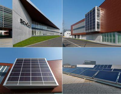 Sch co international energia pulita da sistemi solari e - Finestre con pannelli solari ...