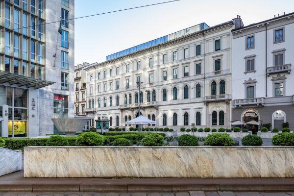 """Intervento di riqualificazione architettonica del vecchio consolato di Milano """"Principe Amedeo 5"""""""