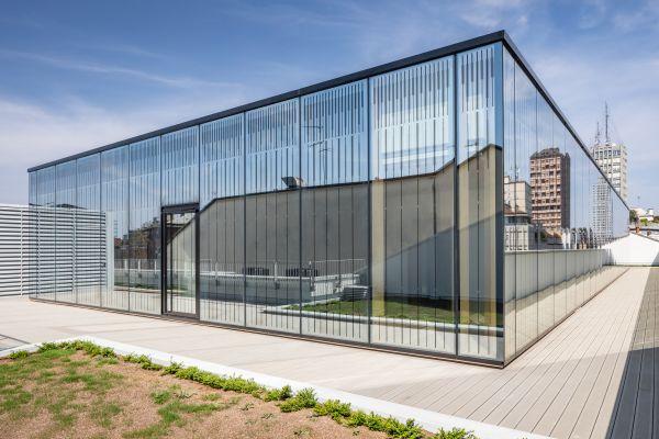 PrincipeAmedeo5 - nuovo volume vetrato in copertura