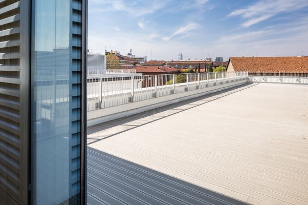 PrincipeAmedeo5 - nuovo terrazzo realizzato in copertura