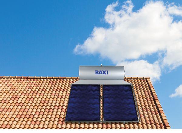 Sistema solare a circolazione naturale SB 21 + Slim di Baxi