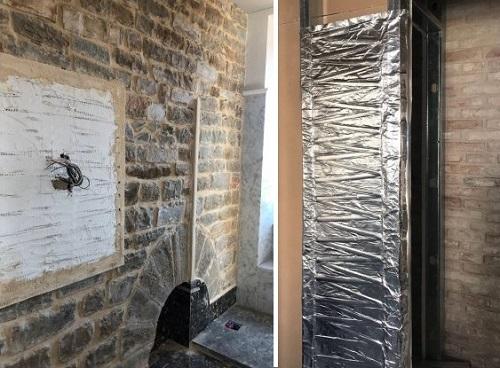 Riscaldamento radiante a parete