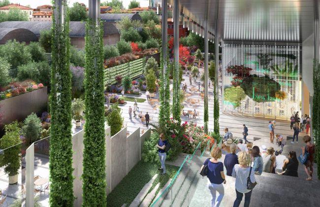 Gli spazio verdi di Vitae a Milano