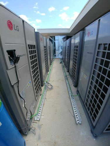 LG Multi V per la gestione climatica di un campus universitario