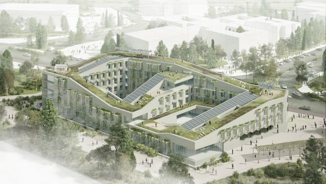 Reinventing cities Madrid: Lo studentato Campus for Living Cities a Vallecas