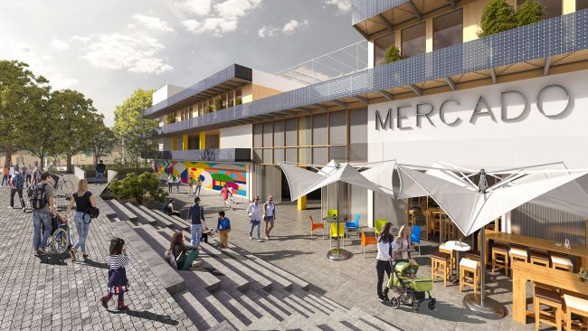 Reinventing Cities: Mercado de Orcasur, Madrid