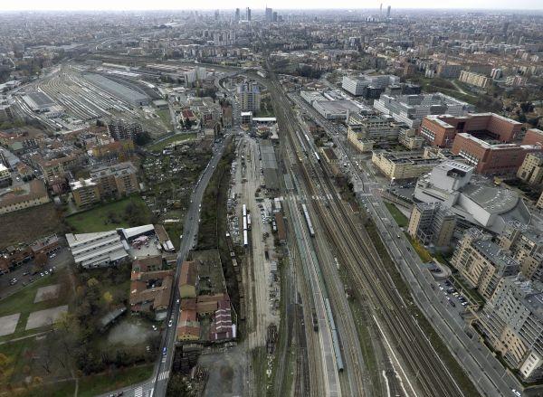 Il quartiere Greco a Milano dove sarà realizzato l'Innesto