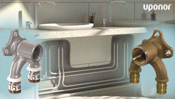 Grazie a Uponor impianti idrosanitari ad alta igienicità