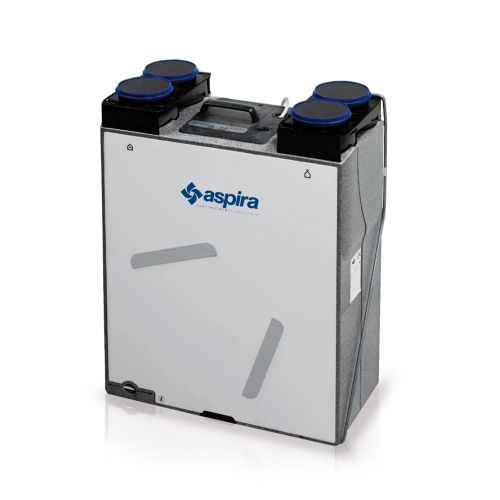 VMC Fantini: Aspirlight BP adatta ad ambienti fino a 130 mq
