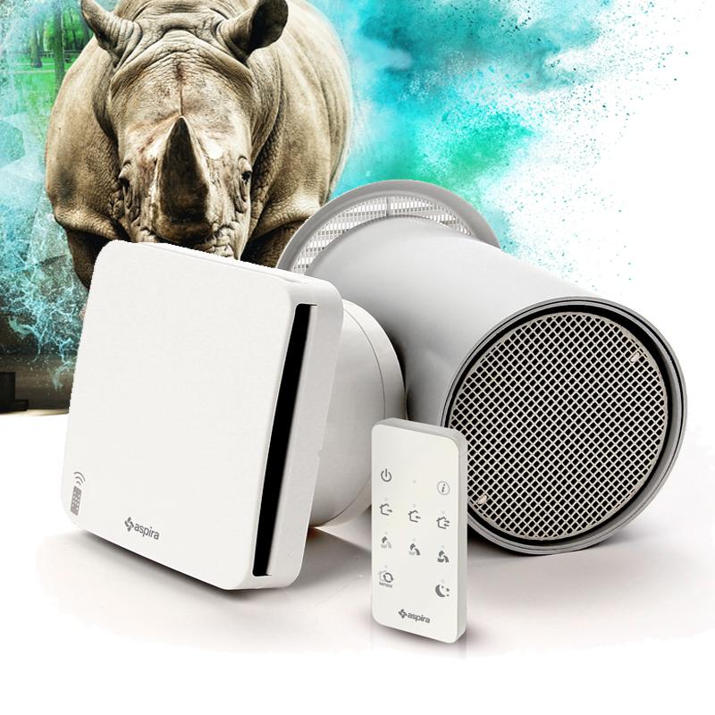 Rhinocomfort VMC con recupero di calore di Fantini per il residenziale
