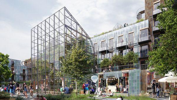 La corte di Future Living, reinventing cities a Oslo