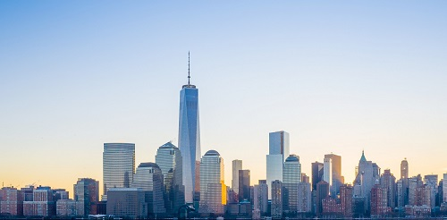 Sky-line New york