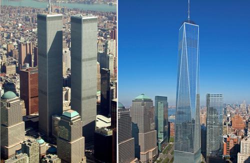 World Trade Center ieri e oggi