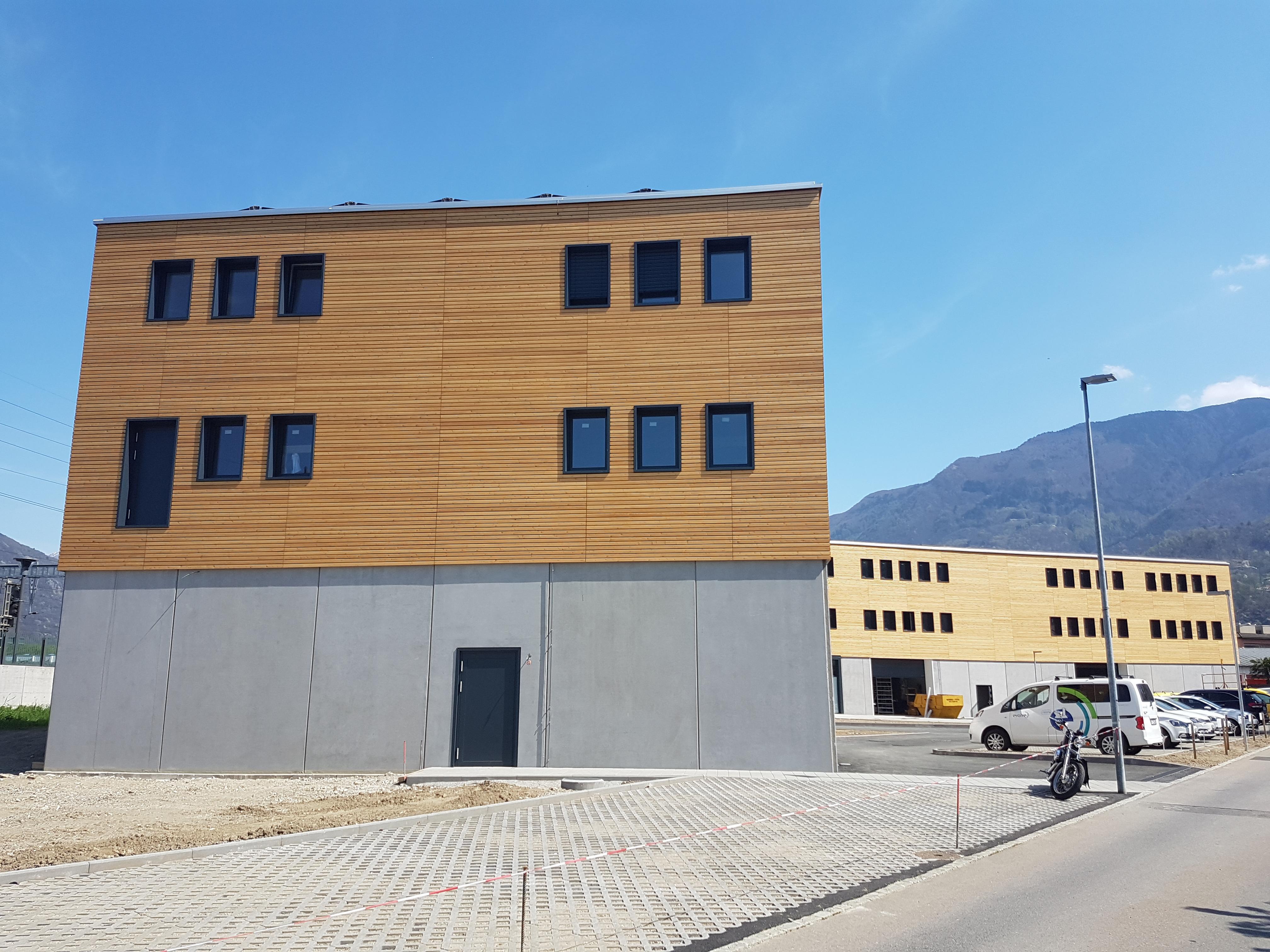 In Canton Ticino un prefabbricato Magnetti certificato Minergie A