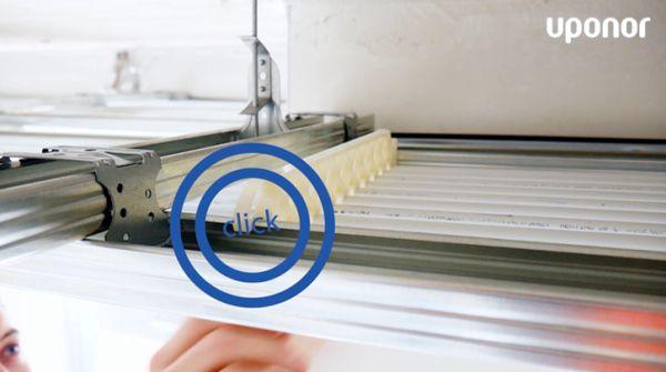 Uponor Thermatop M è una soluzione per il riscaldamento radiante semplice da montare