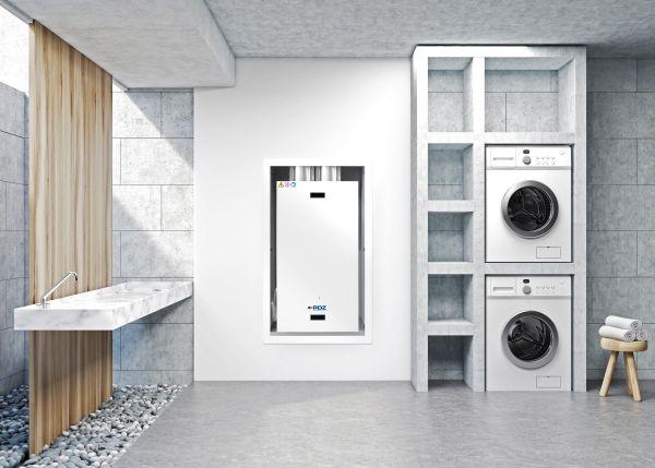 Nuova unità per la ventilazione meccanica residenziale a incasso a parete WHRI di RDZ