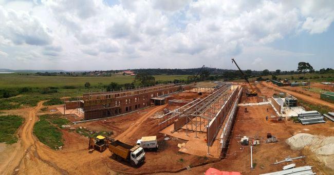Il contributo di Mapei nella realizzazione del nuovo ospedale di Emergency in Uganda