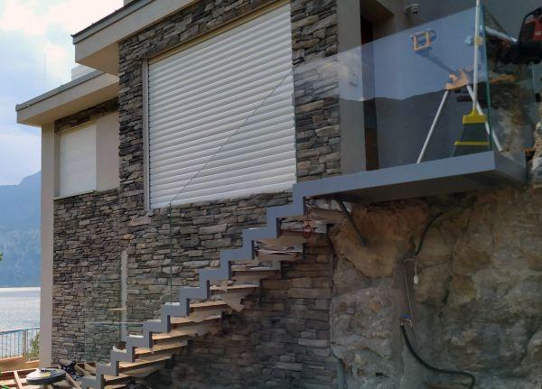 15 RoverBlok di Roverplastik per una villa in classe A+ a Torbole sul Garda