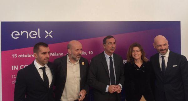 Inaugurazione del condominio di viale Murillo a Milano dopo l'intervento di riqualificazione