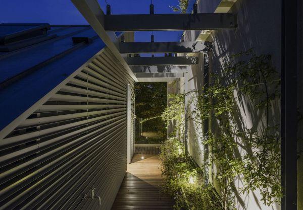 soluzioni a verde Laterlite a base di argilla espansa Leca per la Casa sul Parco a Fidenza
