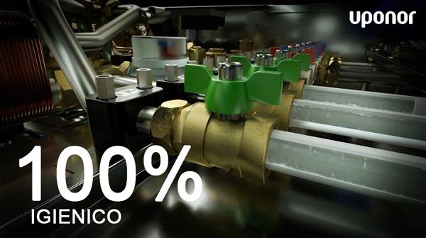 Combi Port distribuisce e adatta la temperatura dell'acqua al comfort termico individuale