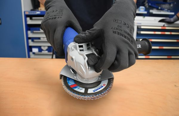 Smerigliatrici angolari Berner X-LOCK: velocità, semplicità e alte prestazioni