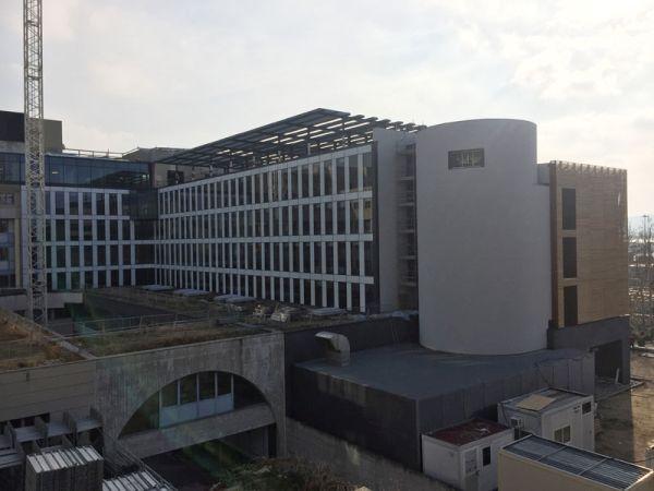 I pannelli Stiferite per un intervento di riqualificazione profonda dell'headquarter hallianz a Trieste