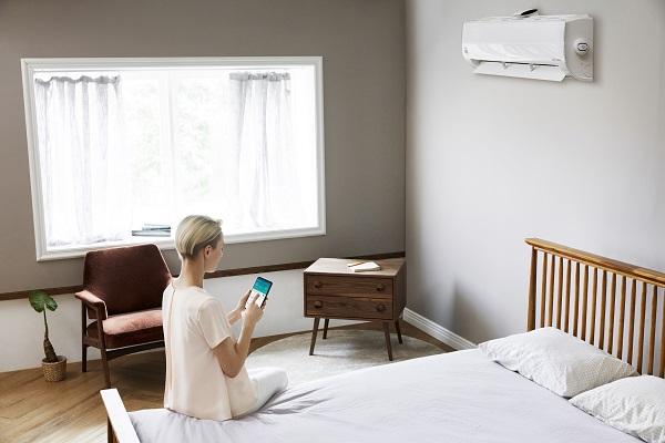 LG permette di gestire la temperatura attraverso comando vocale