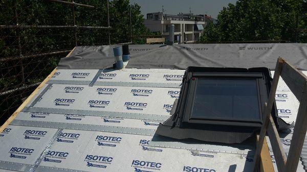 Isotec Linea di Brianza Plastica per l'isolamento delle coperture