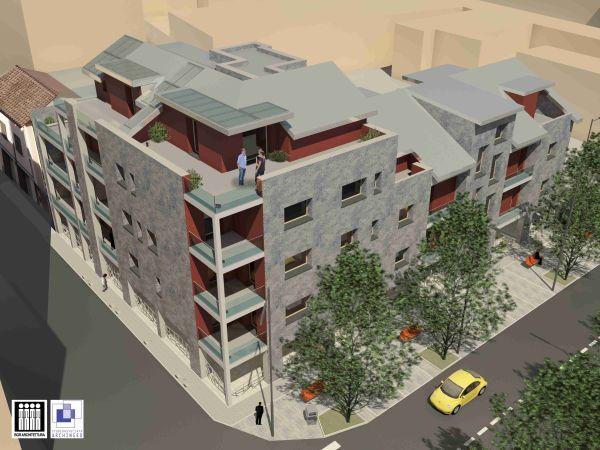 Nuova costruzione a Pinerolo, vista dall'alto