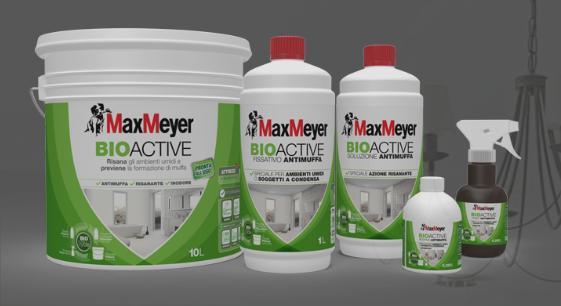 Le soluzioni BioActive di MaxMeyer per combattere la muffa in casa