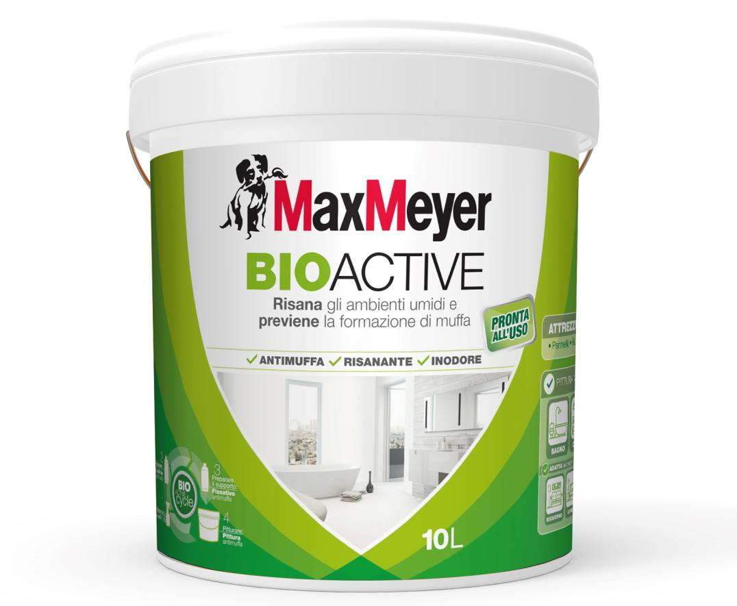 Pittura Antimuffa traspirante BioActive di MaxMeyer