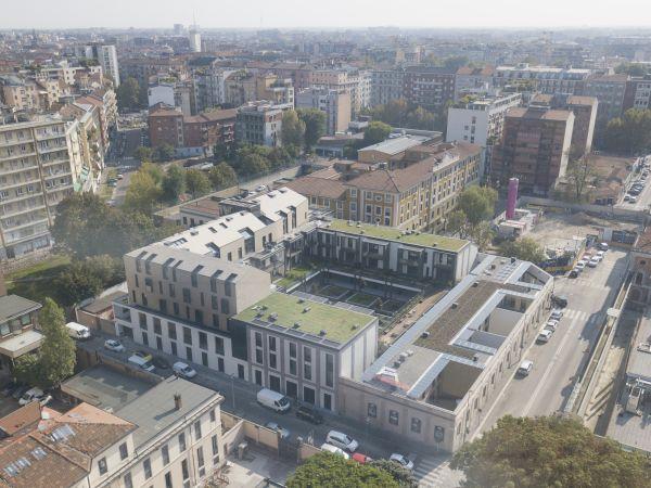 Progetto il Chiostro a Milano, tra tecnologia e sostenibilità