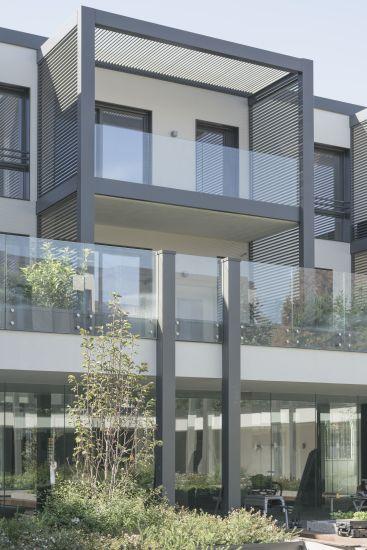 Progetto Il Chiostro a Milano, una terrazza