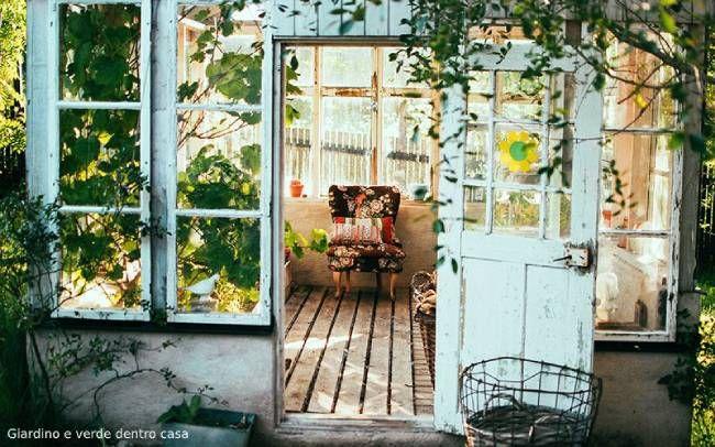 Giardino e verde dentro casa: vantaggi e alcune idee
