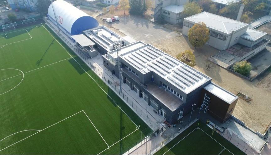 Viessmann per il progetto di riqualificazione del centro sportivo di Alessandria