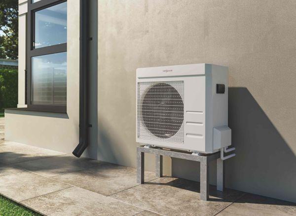 Viessmann: pompa di calore aria acqua monoblocco Vitocal 100-A