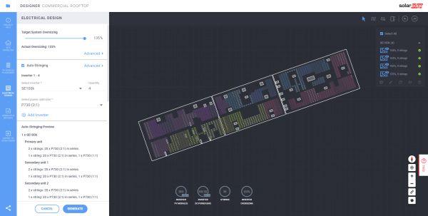 Solaredge: Nuove funzionalità in Designer per installazioni fotovoltaiche commerciali