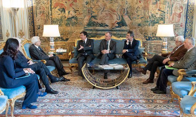 Incontro Kyoto Club con il Presidente Mattarella