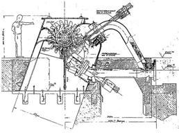 Schema turbina pelton