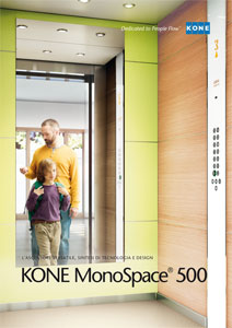 kone monospace 500 ascensore a risparmio energetico. Black Bedroom Furniture Sets. Home Design Ideas