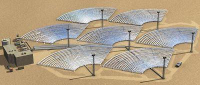 Impianti solari a concentrazione a torre centrale una proposta di gestione ottimizzata - Centrale solare a specchi ...