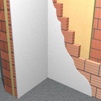 Pareti perimetrali - Isolamento in intercapedine