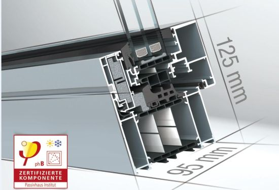 Finestra wicline 95 certificata passivhaus - Scheda tecnica finestra ...