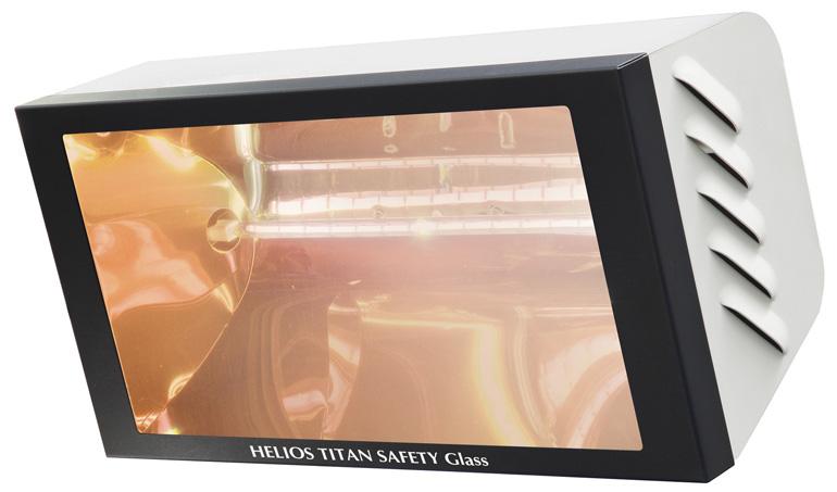 riscaldatori helios titan safety glass